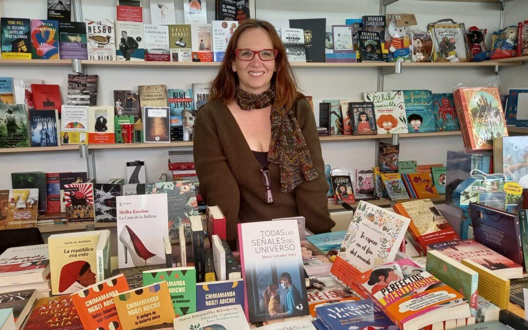 Marta Salvador en la Feria del libro 2021