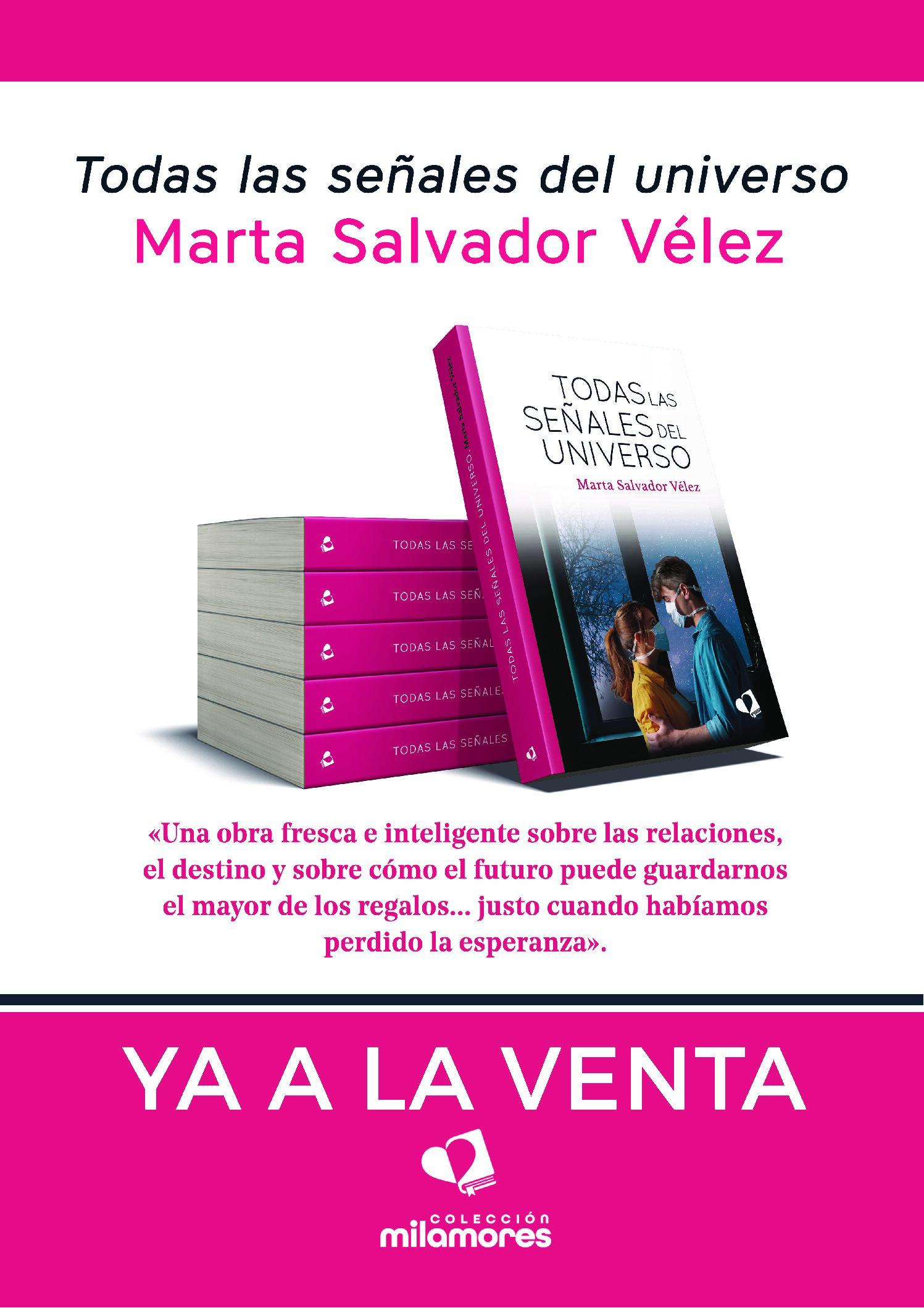 Se publica la nueva novela de nuestra profesora Marta Salvador Vélez