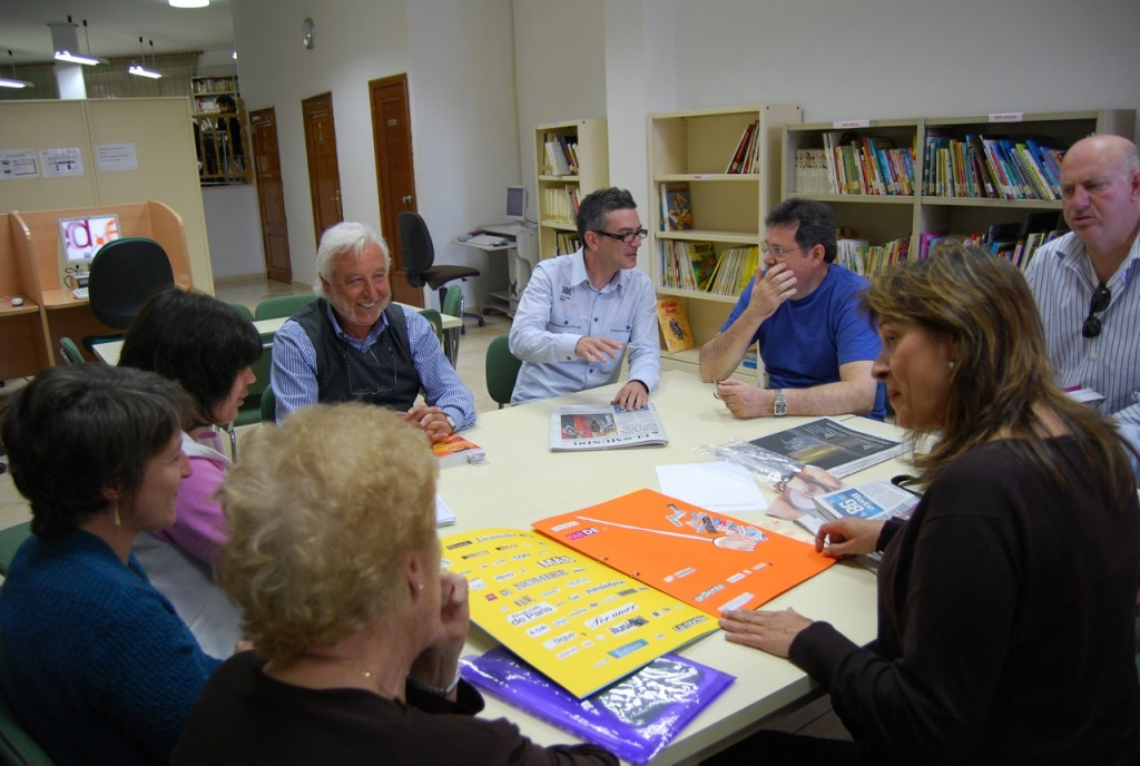 Club de Lectura de Fábrica de Cultura en Canet d'En Berenguer