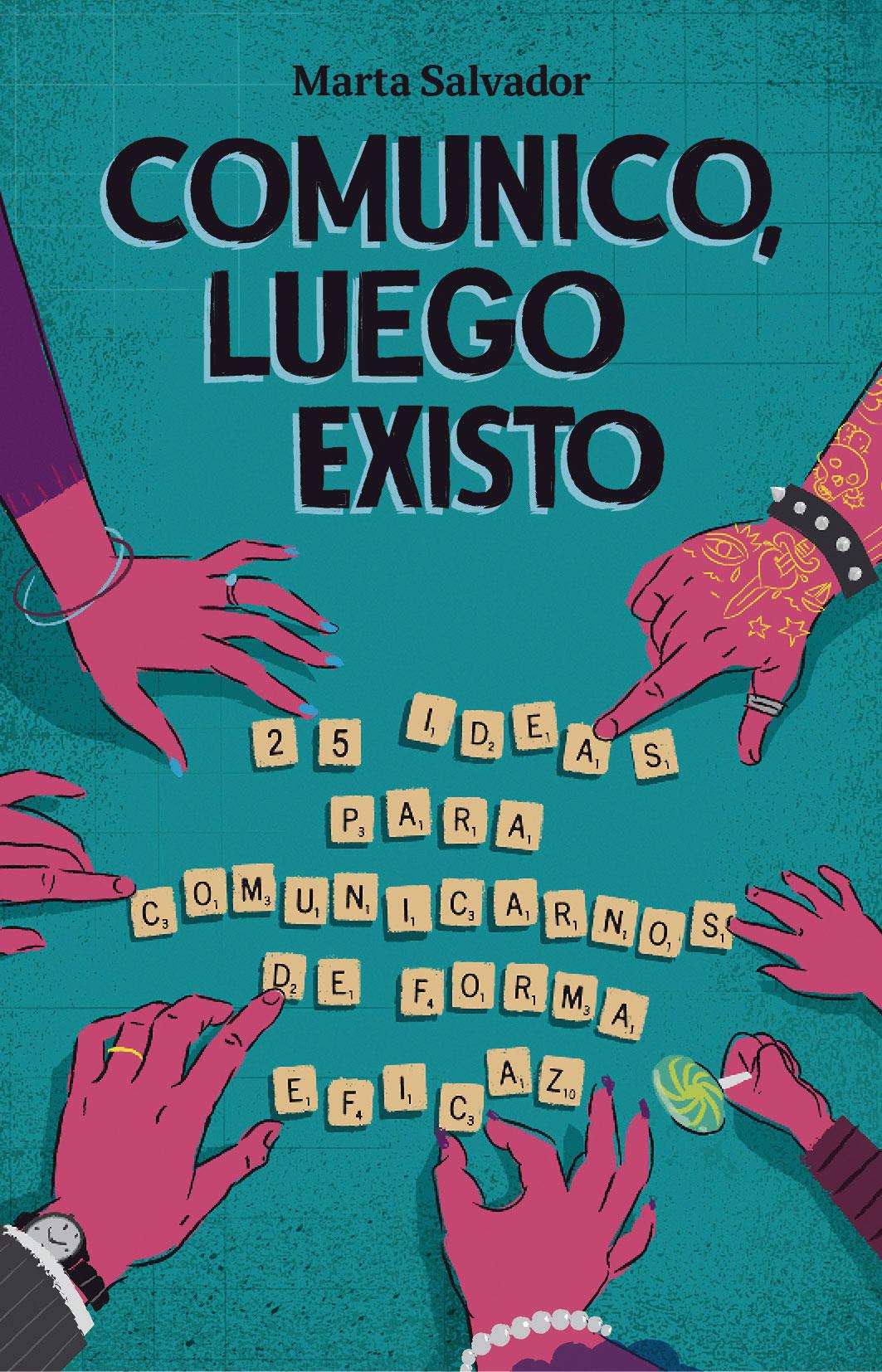 Presentación del libro «Comunico, luego existo» de nuestra profesora Marta Salvador